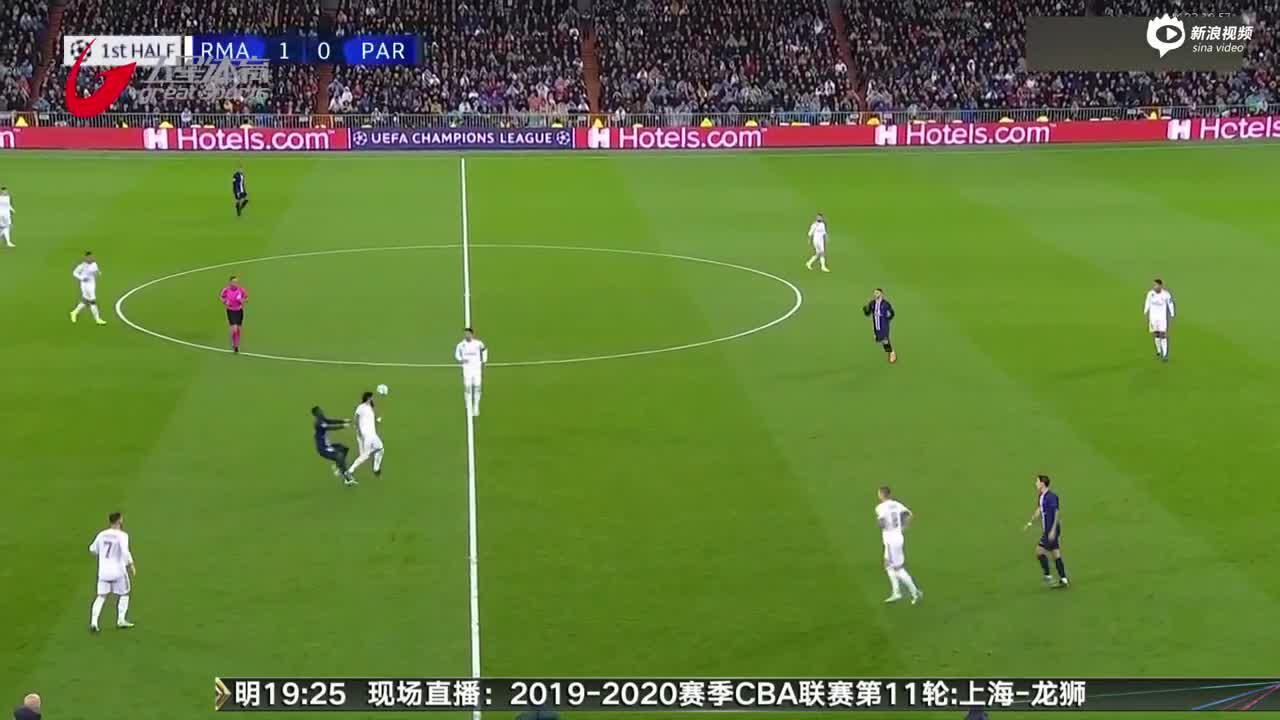 视频-连丢两球  皇马痛失好局战平大巴黎