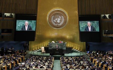 美国拉拢拉美国家投反对票,187国投下赞成票:这次正义不会缺席