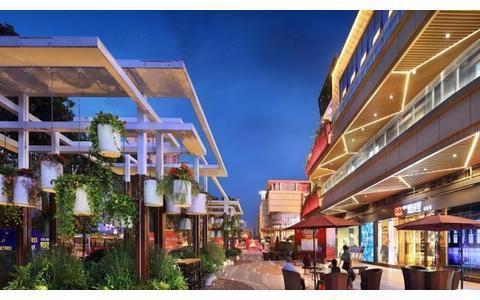 开放性商业街设计,为消费者创造更多带来欢喜快乐的场所