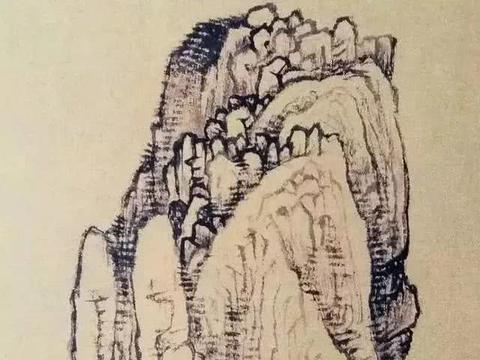 黄秋园:皴法与山石画法全解