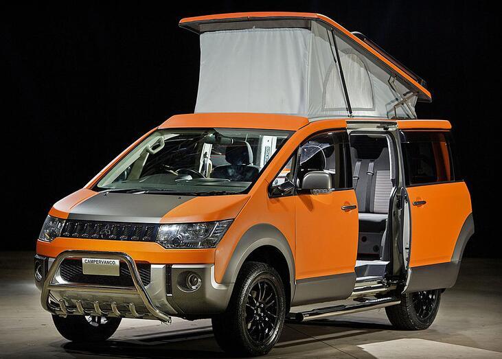 全新一代三菱得利卡来了,房车版首次曝光,柴油动力+四驱真给力