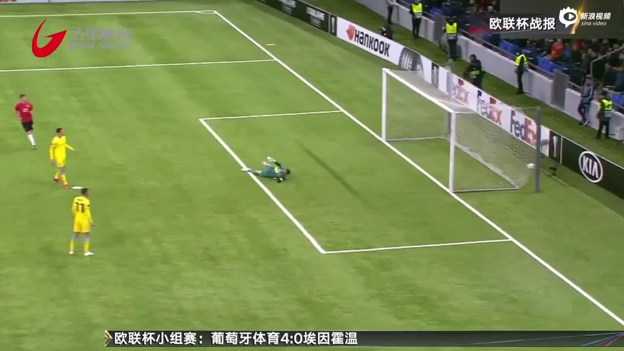 视频-1-2遭阿斯塔纳逆转 曼联未能锁定欧联小组头名
