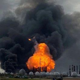 化工厂接连大爆炸 美国5万人感恩节有家难回