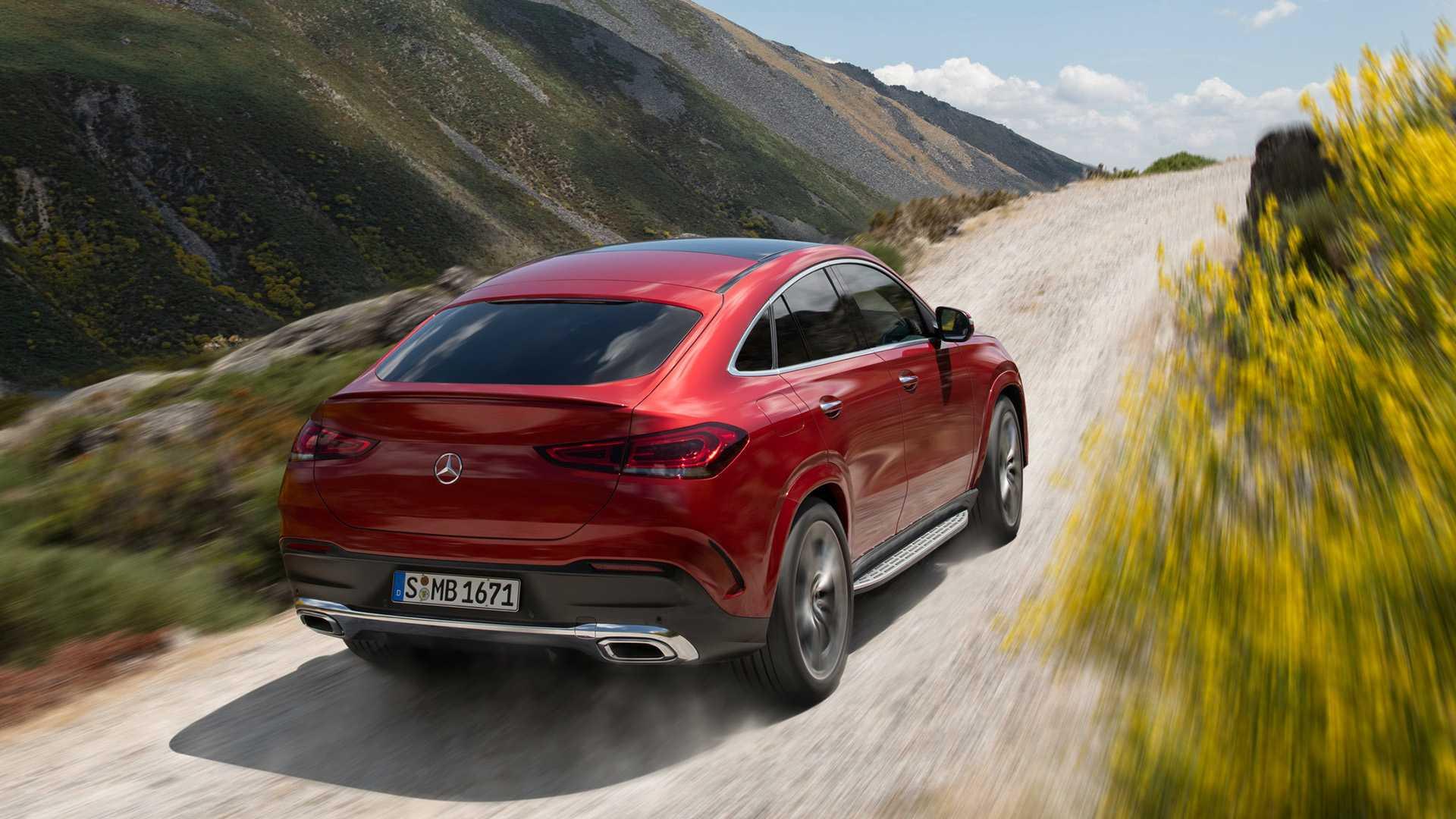 全新奔驰GLE Coupe插混版车型最新消息曝光 有望明年引入国内
