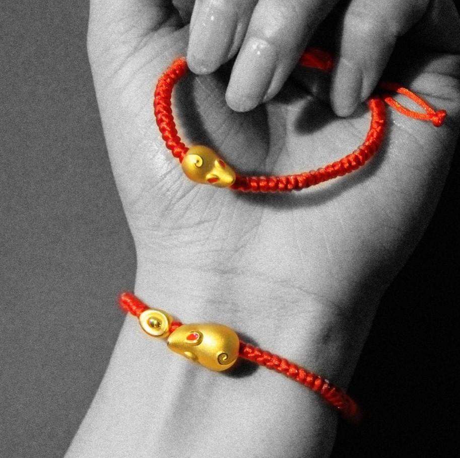 金鼠红绳带来时来运转 这才是中国人腕上最美的手链 | 种草机