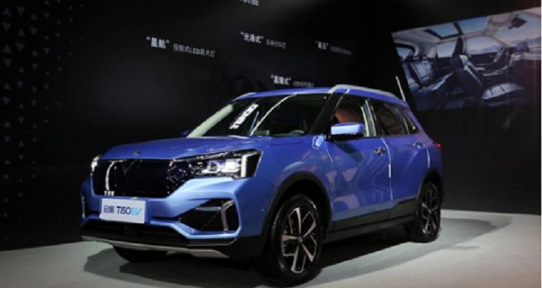 启辰T60EV上市,补贴后售价13.88-15.68万元