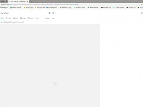 Chrome上谷歌搜索某些词条会灰屏覆盖 谷歌正在调查