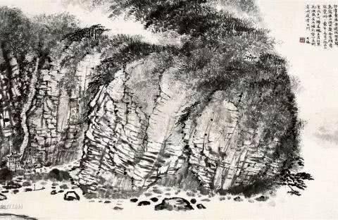 历代名家画石皴法运用图解——唐代