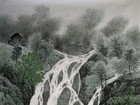 画山画水画树画草,了然于心——王晓峰山水画欣赏