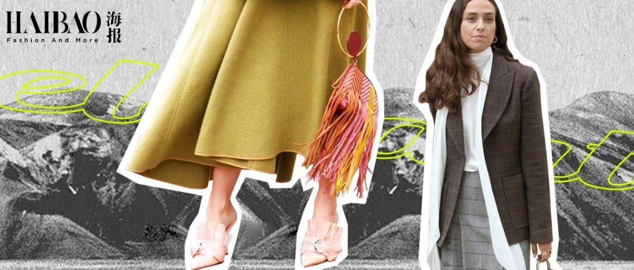 能把毛衣穿好看的秘诀,都在一条毛呢半裙里