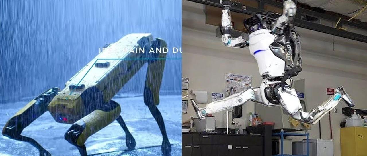 会后空翻的机器人、会开门的机器狗:揭秘波士顿动力Atlas&Spot