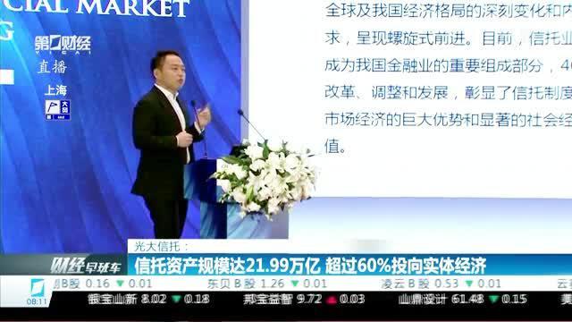 信托资产规模达21.99万亿 超过60%投向实体经济