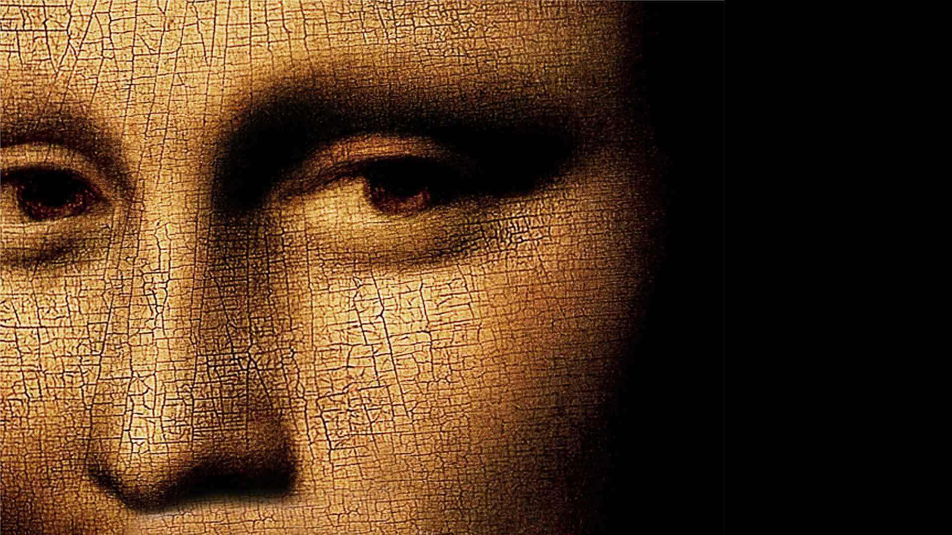 《蒙娜丽莎》并不是单人画像,放大30倍后,出现的另一个人是谁
