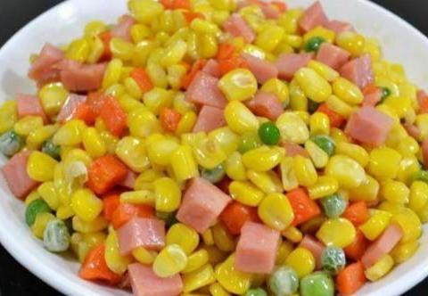 简单家常菜:什锦玉米粒,三色排骨汤,山药鸡汤