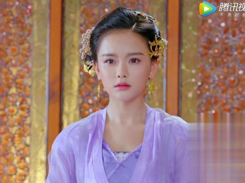 楚乔传的紫色风看着真清新!南笙成最美淑仪
