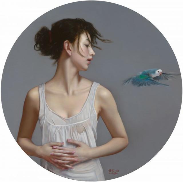 写实艺术家李贵君人体油画作品欣赏