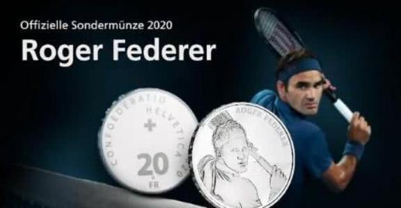 瑞士为费德勒铸纪念币, 天王再创历史