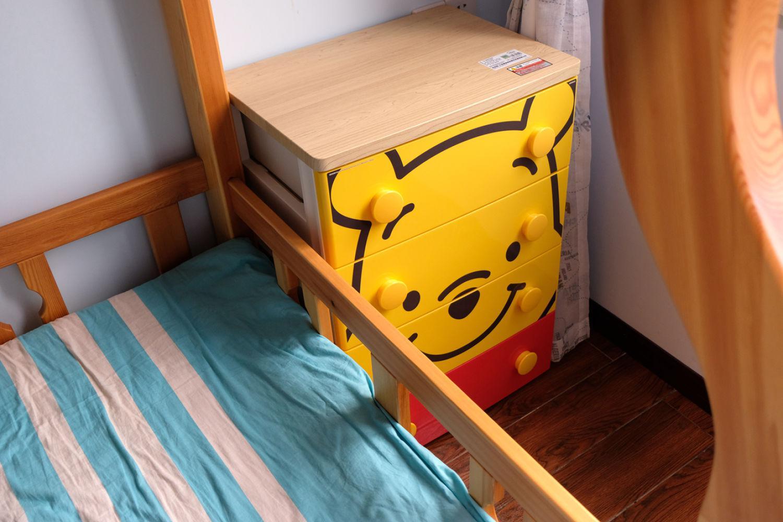 儿童房好物,爱丽思迪士尼米奇维尼塑料抽屉柜