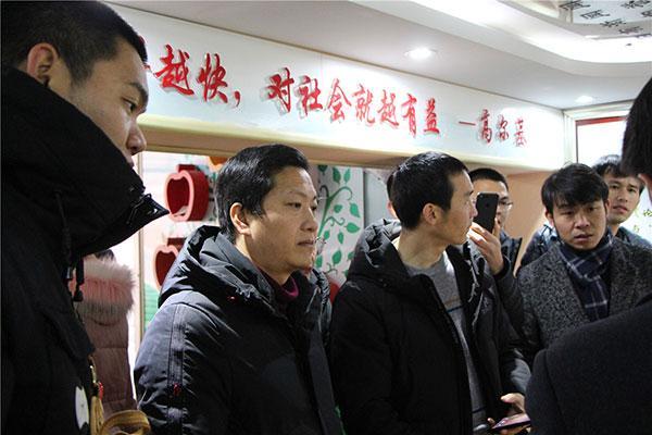 四川省广元市万达中学校领导到访衡水十三中
