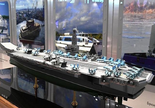 库兹涅佐夫传出要退役之际,俄开始构想新型航母,排水量仅7万吨