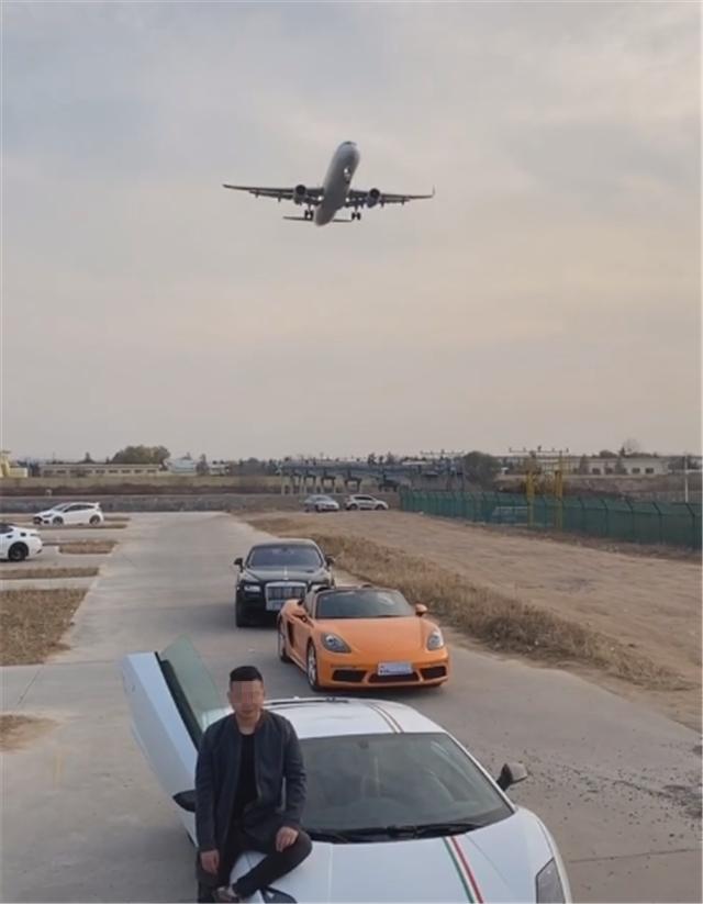 又一网红打卡地,青岛流亭机场,不少人开车前往,只为与飞机同框
