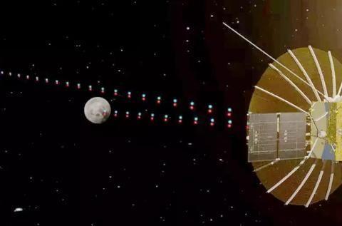 中荷射电望远镜NICE的天线已在月球背面展开
