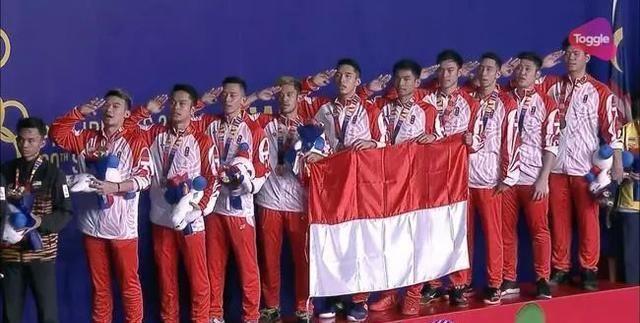 印尼夺东南亚运动会男团冠军!完成六连冠
