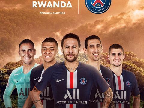 卢旺达旅游局成为巴黎圣日耳曼全新合作伙伴
