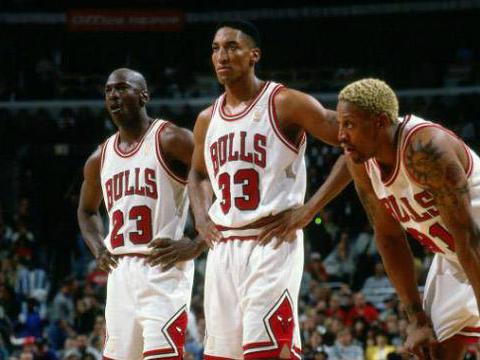 小球时代奇特现象,比NBA传统年代区别之大!72胜公牛得分排倒5
