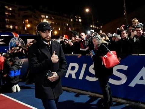 """巴黎圣日耳曼2:0南特!内马尔精彩集锦,与小球迷拍照非常""""6"""""""