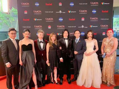 孙晟豪Gino Sun盛装出席爱塔金像奖 计划进军好莱坞振兴华语电影
