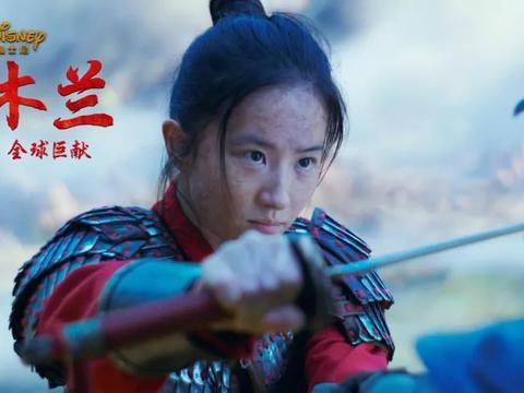 《花木兰》新预告首发,刘亦菲晒伤妆惊人,巩俐巫婆打扮像唱戏