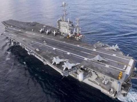 美航母结束使命,奉命开赴波斯湾,俄卫星发现中东美基地有异动
