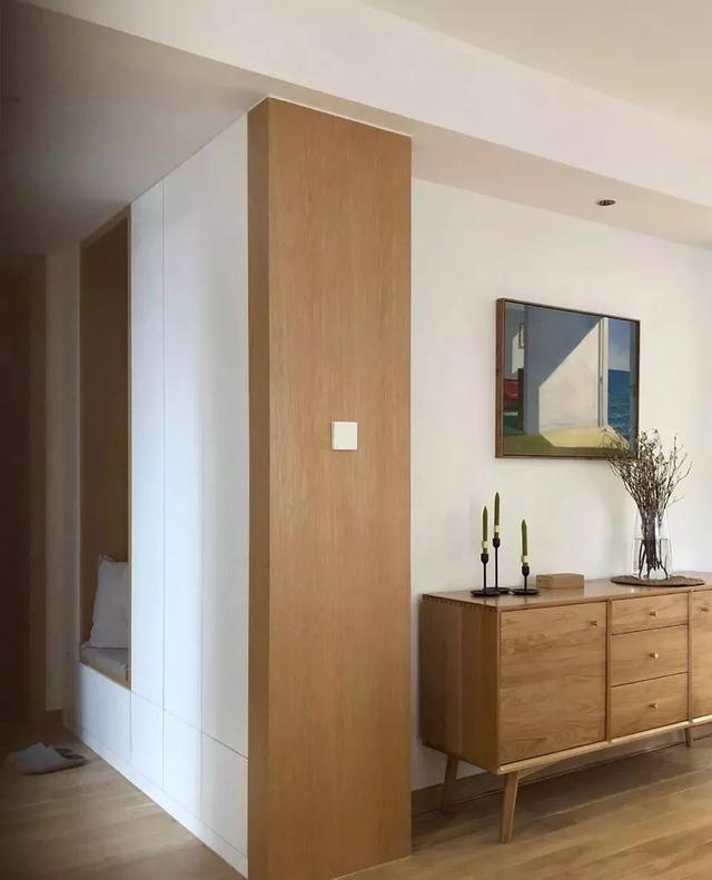 105㎡现代简约新房,定制电视墙收纳柜和清新背景墙真漂亮