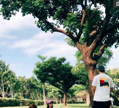 贾静雯和其他宝妈带咘咘波妞野餐,修杰楷贴心陪同,带孩子们跑步