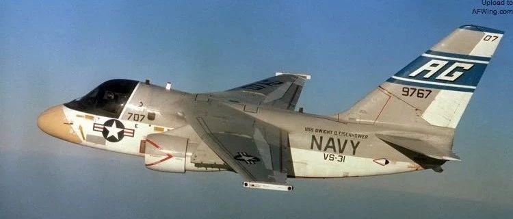 """洛克希德S-3""""北欧海盗""""舰载反潜机"""