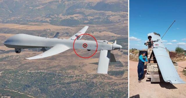 美军指挥无人机偷袭利比亚基地!俄雇佣兵导弹猛烈开火,当场击落