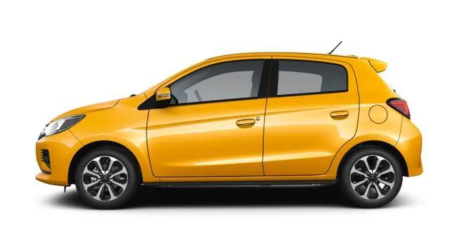 三菱Mirage官图发布,精致小巧的车型也有大能量
