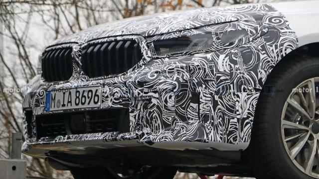 宝马6系GT最新谍照,销量再不起色,直接停产
