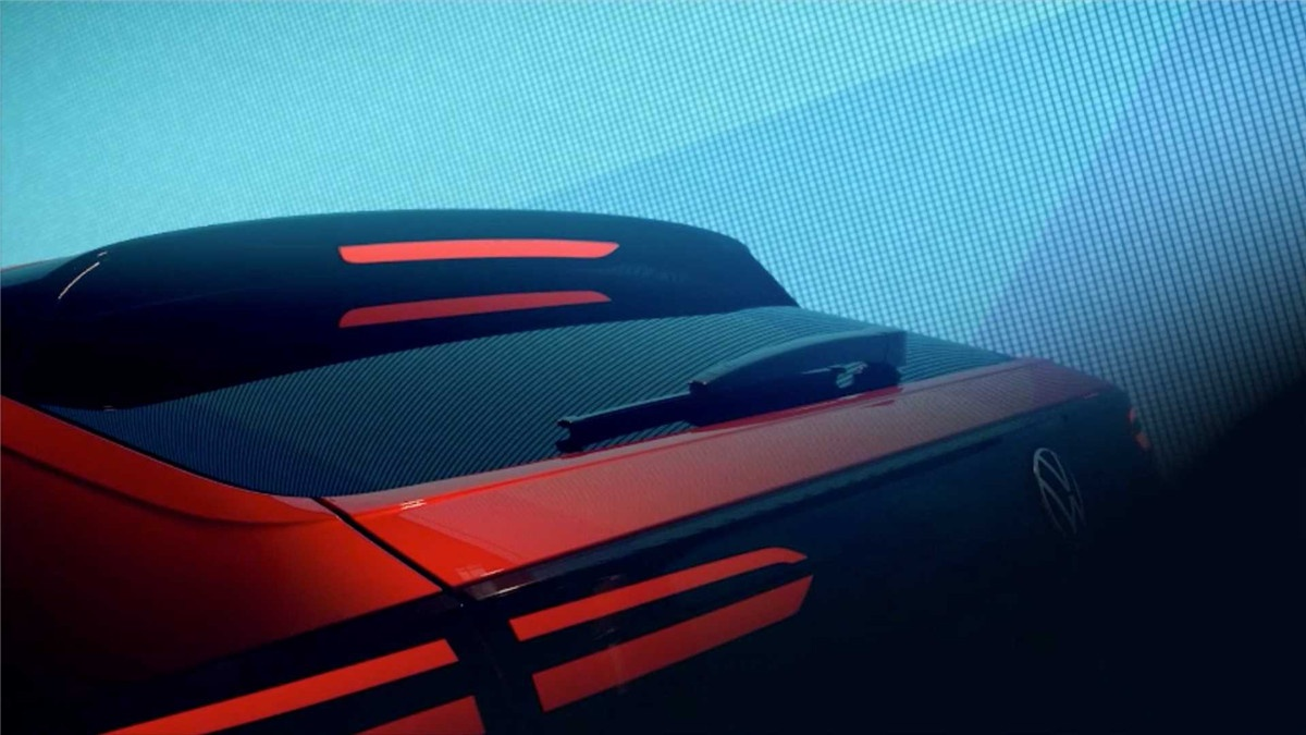 大众全新轿跑SUV Nivus预告片发布 搭1.0T发动机