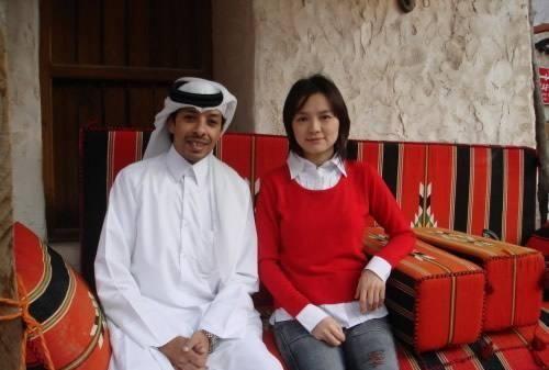 中国最美的棋后,远嫁中东王子家族,如今43岁身居高职显老态