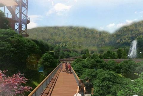 高清规划图来了!三明将建麒麟山与绿道连接线