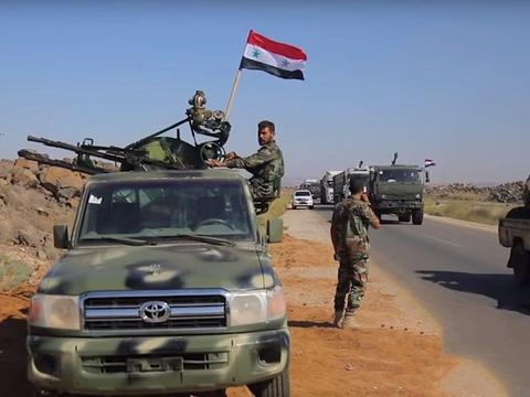 精锐部队加入激战,叙军连夺三镇,形势出现逆转,收复油田有望