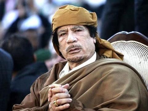 """卡扎菲统治利比亚40多年,为何一直自称""""上校"""",有什么玄机"""
