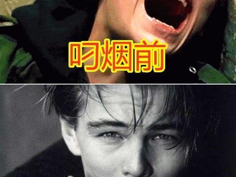 美国有个叼烟男神小李子,日本有小栗旬,中国有他足够
