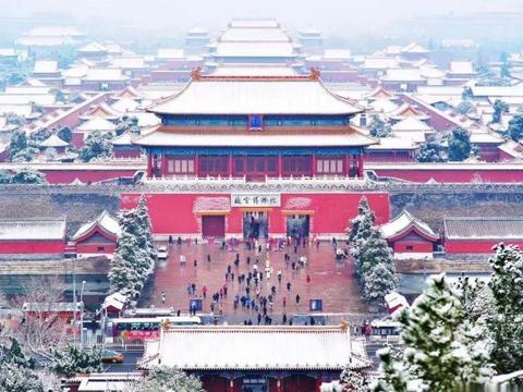 北京下雪,故宫八万张门票开门就卖完!成都的雪啥时候来啊?