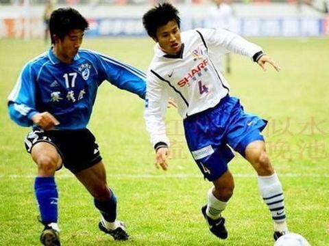 20年前今天甲A末轮上海申花0比1大连万达,1队球星你能认出几个