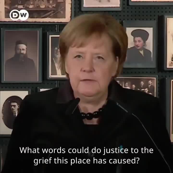 微天下 首访奥斯维辛集中营 默克尔:我深感羞愧