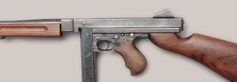 美M2冲锋枪——与战争擦肩而过
