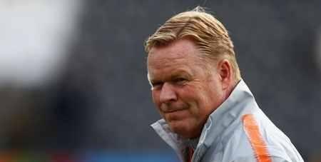 科曼:我现在是荷兰队主帅,不希望过多讨论同巴萨的传闻